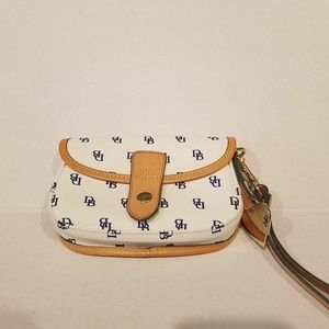 Dooney and Bourke small Wristlet cell phone bag